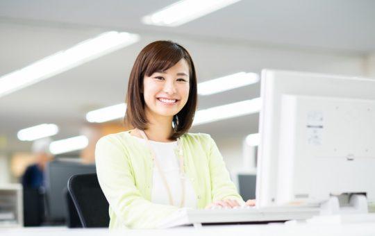 残業少なめ★オフィス内でデータ入力スタッフ募集